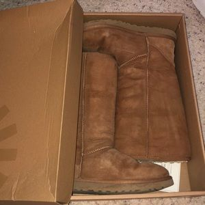 UGGs Tall Chestnut Size 9